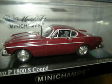 1:43 Minichamps Volvo P 1800 S Coupe 1969 dark red/dunkelrot Nr 430171680 in OVP