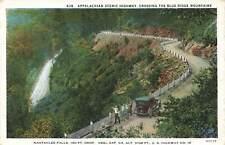 Georgia, GA, Neel Gap, Nahtahlee Falls 1932 Postcard