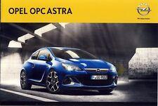 Opel Astra OPC 07 / 2012 catalogue brochure Hongrois Hungarian