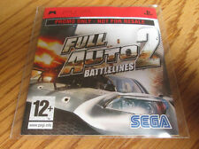 Full Auto 2 Battlelines PROMO – Sony PSP (Full Promotional Game) SEGA