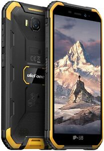 Rugged Mobile Phone Android 9.0 Quad-core IP68 Waterproof Unlocked Smartphone