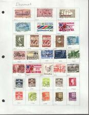 1¢ WONDER'S ~ DENMARK MINT & USED SMALL LOT ALL SHOWN ~ G1006