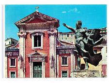 CARTOLINA LAZIO - FROSINONE - ARPINO 1392 - CHIESA DI S. MICHELE ANNI 70