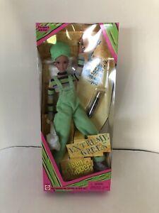 Vintage Barbie Extreme Green Teen Skipper Mattel NIB 1997 #19666 - NEW B16