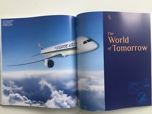 NEW Singapore Airlines 70 Years Book - Rare Limited Edition Anniversary
