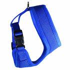 Weaver Leather Adjustable Mesh Chicken Harness Medium Blue