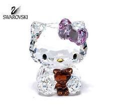 Sanrio Hello Kitty Bear Swarovski 1096877 gatto orso nuovo crystal cristallo