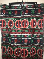 NWT Sz S/M Men Marvel Navy Multicolor Deadpool Christmas Pajama Lounge Pants