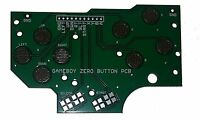 Gameboy DMG-01 4 Button PCB DIY Pi Zero Made In USA With Grounds and Hole Guide
