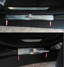 M Power Look Edelstahl Set 4 Einstiegsleisten Design BMW X5 F15  X6 F16