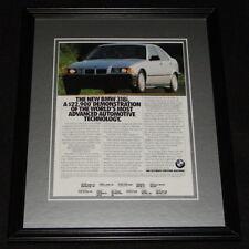 1992 BMW 318i 11x14 Framed ORIGINAL Vintage Advertisement