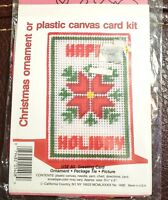 California Country Plastic Canvas Greeting Card / Ornament Kit No. 1400 - New