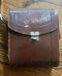 VINTAGE ORIGINAL ZEIS ICON GERMANY BROWN LEATHER CASE 1768