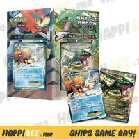 POKEMON Battle Arena Decks (RAYQUAZA vs KELDEO) Box🍯120 Cards + FOIL EX