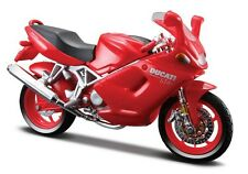 BURAGO 1/18 MOTO DUCATI ST4s rouge!!!
