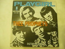 "PLAYGIRL""THEE PROPHETS-disco 45 giri KAPP France 1970"""