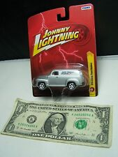 Johnny Lightning Silver 1950 Chevy Panel Delivery #24 Doug Thorley Headers 2012