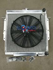 Alloy Radiator & Fan Landcruiser 70/75 Series Troopy 2H Diesel 4.0 HJ75 84-99 MT