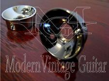 "2  MVG SIJSBN Vintage Guitar BLACK NICKEL Metal Electro Socket 1/4"" Jack Mount"