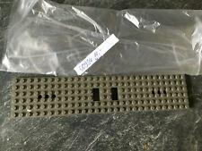 Lego Tren Placa de Vagón 4093a Neudunkelgrau 6 x 28 , Para 10194 10183