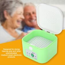 Electric Hearing Aid Dryer Drying Case Box Electric Moisture Proof Dehumidifier