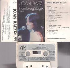 JOAN BAEZ From Every Stage  RARE  SPANISH  CASSETTE  1976  SPAIN      Bob Dylan