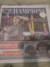 NEW ENGLAND PATRIOTS SUPER BOWL LI-51 CHAMPS  YEAR IN REVIEW  FEB.2017=CHAMPIONS