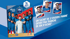 LOT 5 IMAGES AU CHOIX CARREFOUR panini foot 2018