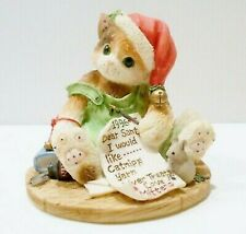 Calico Kittens By Priscilla Hillman - I'Ve Been A Good Kitty -Christmas Dated 96