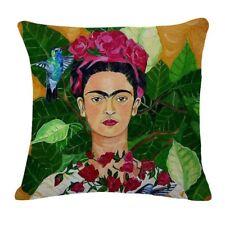 Mexican Artist Frida Kahlo Retro Art Print Bohemian Cushion Cover