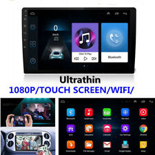 "9"" Ultra thin Android 8.1 2Din 1+16G Car GPS Wifi BT Stereo MP5 Player DVR TPMS"