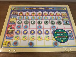 NEW Melissa and Doug Magnetic Responsibility and Chore Chart - UNOPENED