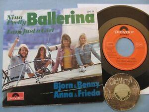 "7"" Single ABBA Bjorn Benny AnnaFrieda Nina Pretty Ballerina 1973 Öster  M- to EX"