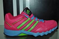 adidas Adifaito Girls Running Shoes M22691 Pink/Green/Blue See Sizes NIB