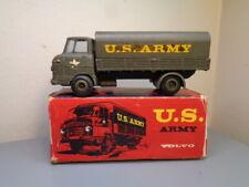 TEKNO DENMARK 456 VINTAGE 1960'S VOLVO EXPRESS US ARMY TRUCK ULTRA RARE VG BOX