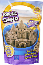 Kinetic Sand, 3.25lbs Beach Sand for Squishing, Mixing and Molding, for Kids Age
