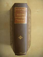 HISTOIRE CONTEMPORAINE (1789-1890), 1893, TBE, envoi des auteurs