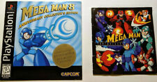 Mega Man 8 Anniversary Collector's Edition - Manual & Anthology Booklet ONLY