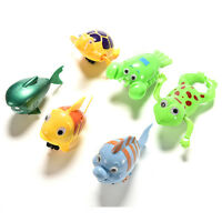 Wind-up Frog Swimming Pool Bath Time Animal Clockwork Floating Kid Baby Toy JP
