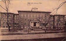 Athens Ohio Ellis Hall Antique Postcard (J34378)