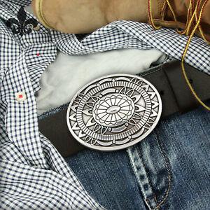 Western Indian Rodeo Ethno Wechsel Gürtelschnalle Gürtelschließe Buckle 4cm NEU