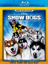 Disney Snow Dogs Dogsled Alaska Sled Dog Racing Family Comedy Movie on Blu-ray