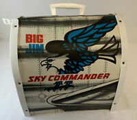 1970's BIG JIM SKY COMMANDER playset case with some accessories