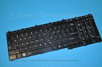 """TOSHIBA Satellite P505 P505D Series 18.4"""" Laptop Keyboard (Black)"""