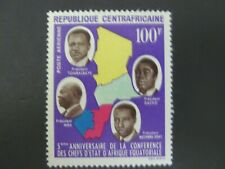 1964 Central African Republic Airmail Scott #C19 MLH - See Description & Images