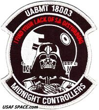 USAF AIR BATTLE MANAGER TRAINING -CLASS 18003- MIDNIGHT CONTROLLERS ORIG PATCH