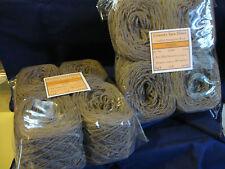 8 x 100g Balls New 'PEBBLE' Wool 1,160m Bulk Knitting Weaving Rug Yarn. 7-3166