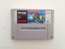 Cybernator PALCOM Super Nintendo SNES PAL FAH