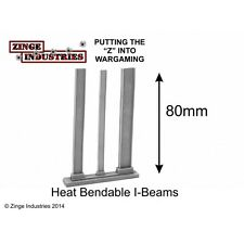 Zinge Industries I-Beam's / RSJ's Various Sizes X3 Heat Shapable Scenery S-IBM01