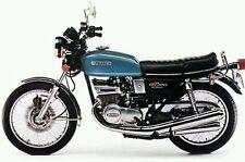 SUZUKI GT380B 1977 MODEL TANK AND SIDE PANELS FULL PAINTWORK DECAL KIT